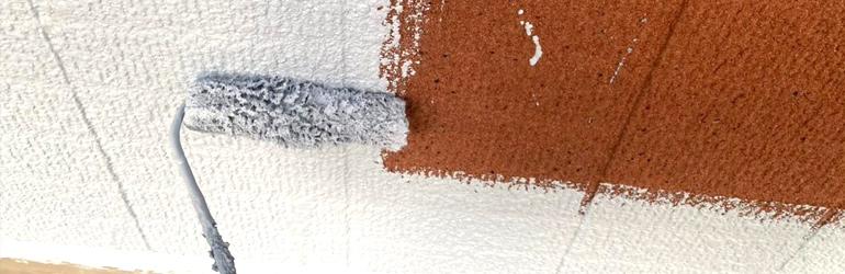 外壁塗装 下塗り作業