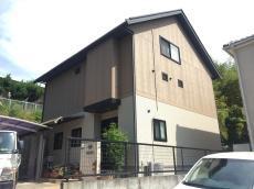 浅口郡里庄町 屋根・外壁の塗装リフォーム工事(施工前1)