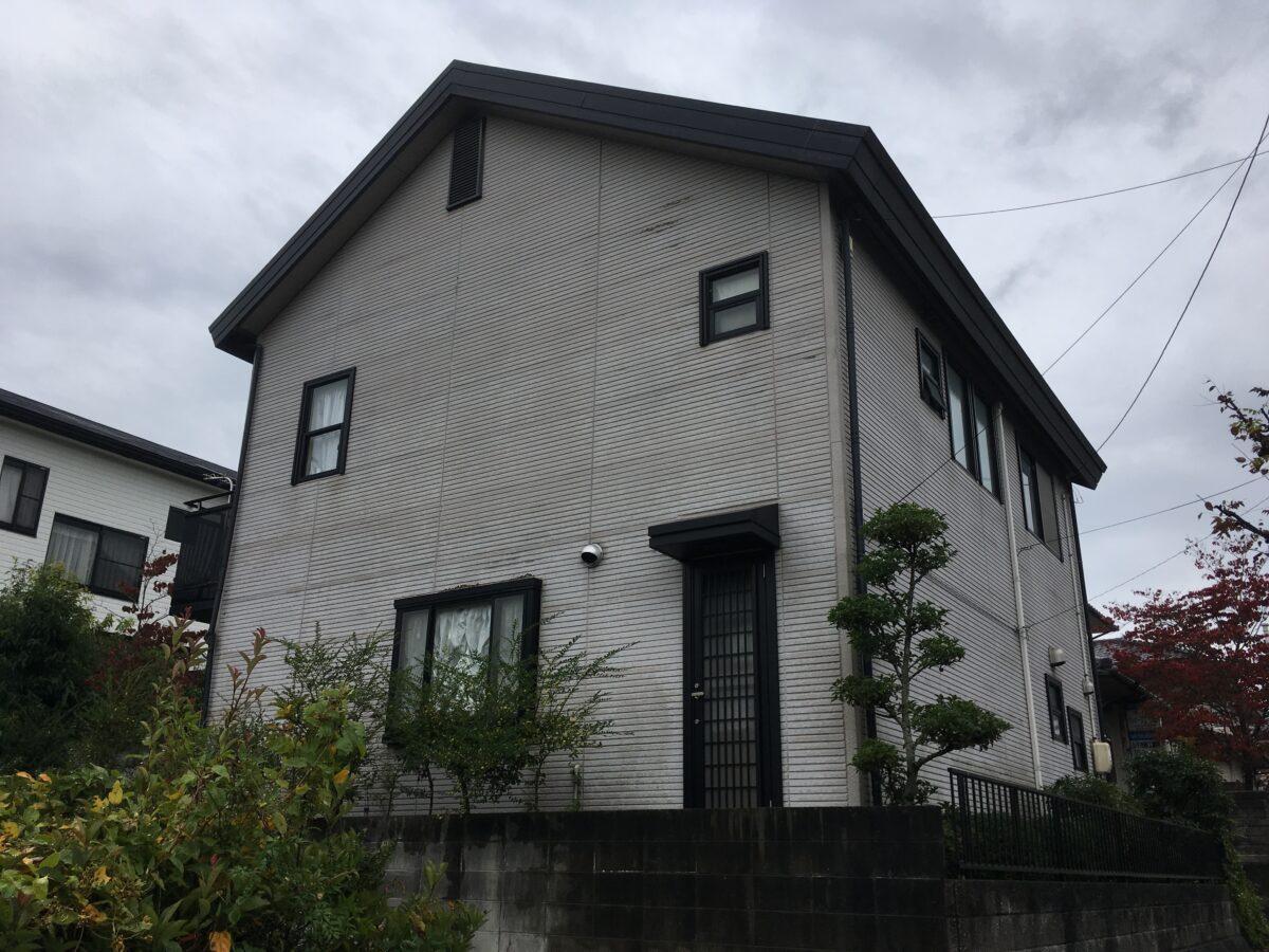 笠岡市大井南屋根外壁塗装工事(施工前2)