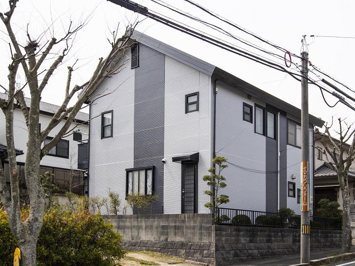 笠岡市大井南屋根外壁塗装工事(施工後)