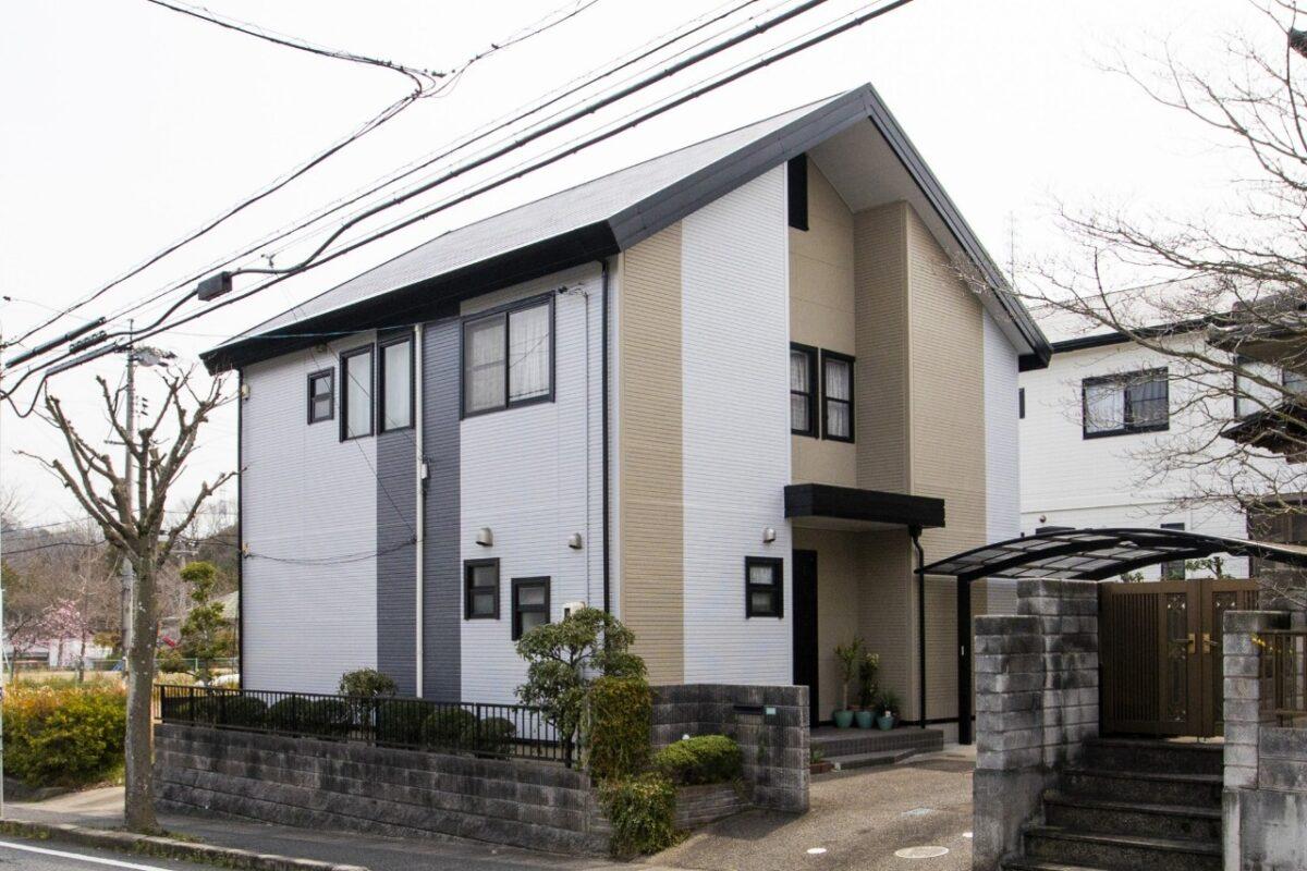 笠岡市大井南 屋根外壁塗装工事(施工後1)