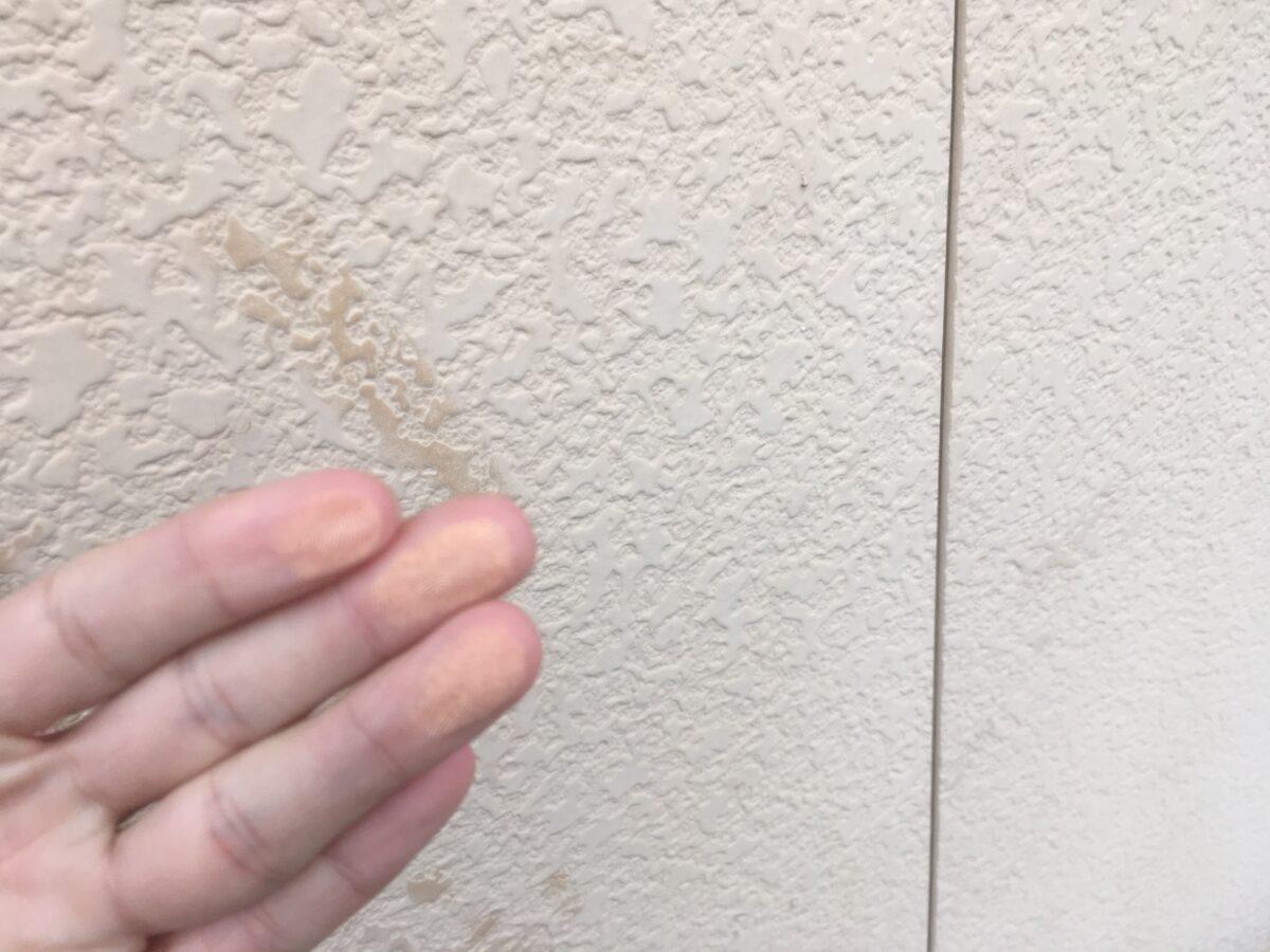 笠岡市西茂平 外壁塗装工事(施工前1)