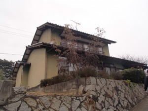 浅口市外壁塗装リフォーム工事(施工前1)