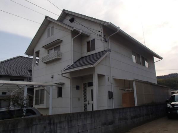 浅口市鴨方町 外壁塗装リフォーム工事(施工前1)