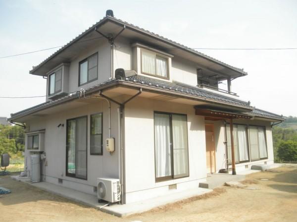 浅口市 外壁塗装・ひび割れ補修リフォーム工事(施工前2)