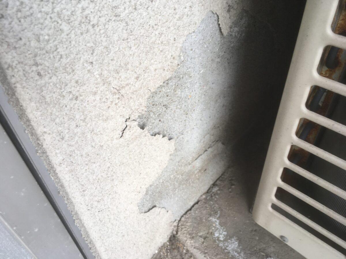 笠岡市広浜 外壁塗装工事(施工前1)