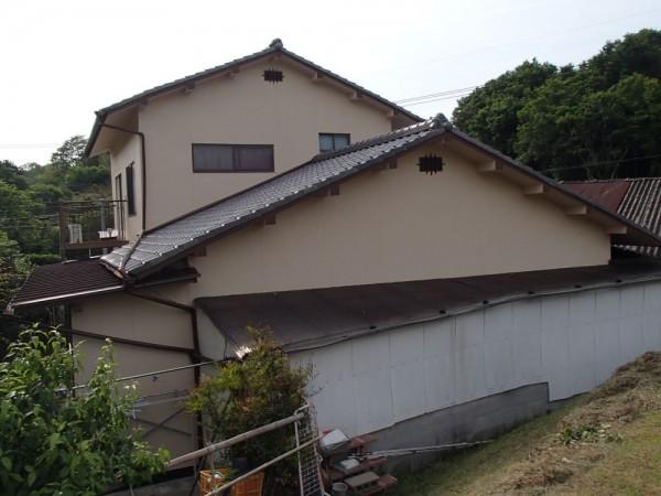 笠岡市 外壁の塗装リフォーム工事(施工後 2)