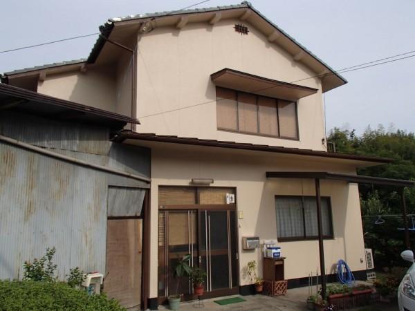 笠岡市 外壁の塗装リフォーム工事(施工後1)