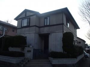 笠岡市 外壁・屋根塗装リフォーム工事(施工前1)