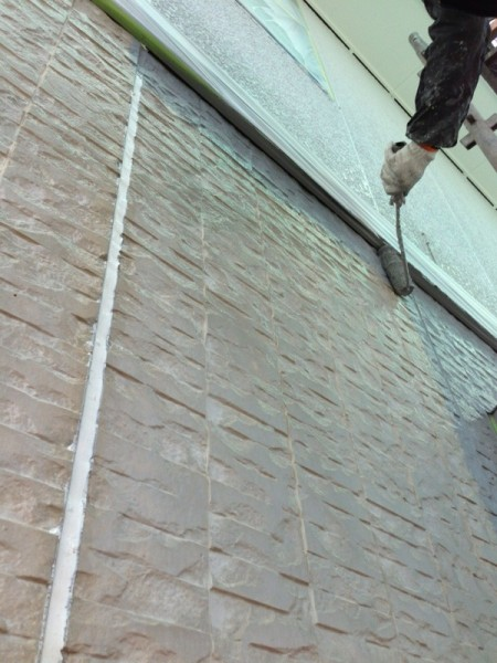 笠岡市 外壁・屋根塗装リフォーム工事(施工後1)