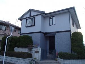 笠岡市 外壁・屋根塗装リフォーム工事(施工後3)
