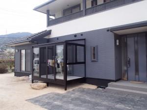 笠岡市 外壁塗装・サンルーム設置リフォーム工事(施工後2)